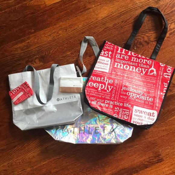 lululemon athletica Handbags - Assorted lululemon and Athleta bags